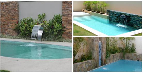 13 albercas y cascadas que te van a gustar para tu casa for Cascadas prefabricadas