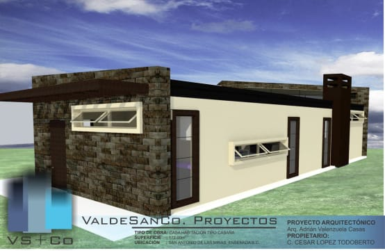 Diseño y construcción de cabañas en Baja California