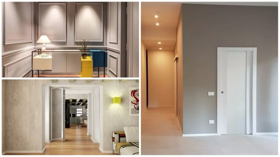 Corridoio Lungo Casa : Colori pareti del corridoio: 30 idee spettacolari
