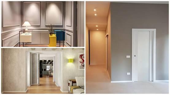 Idee Pareti Foto : Colori pareti del corridoio idee spettacolari