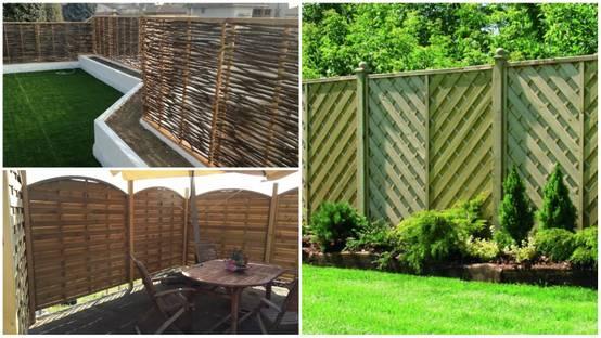 Cancelli e recinzioni da giardino 27 idee per la privacy - Recinzioni privacy giardino ...
