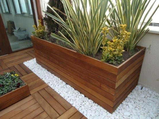 Bahçe Saksısı Modelleri 3