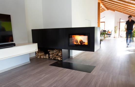 Moderner Kamin für individuelle Wohnraumgestaltungen