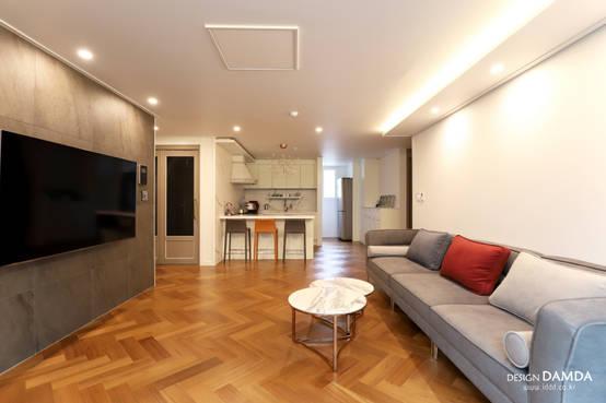 평범한 디자인에 새로운 변화를 꾀하다, 국내 아파트 인테리어 4