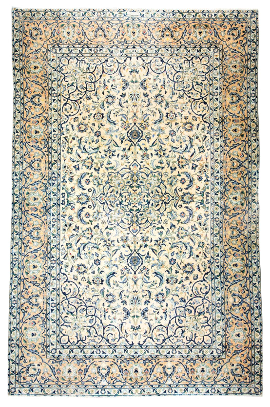 Persian Area Rug for the Living Room, Tribal Nomadic and Rustic Organic Wool Rugs, Vintage and Antique Rugs from Turkey