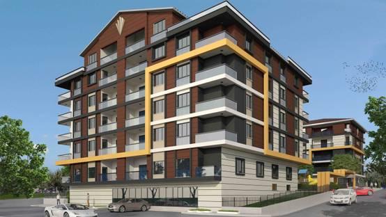 Ankara'daki mimarlık ofisinin tasarladığı iki bloktan oluşan rezidans projesi