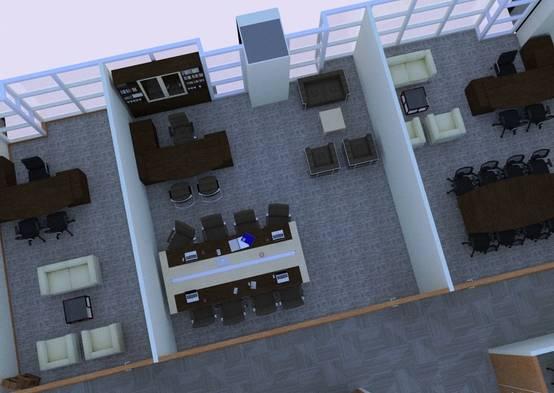 Interior Kantor | Ruang Direktur
