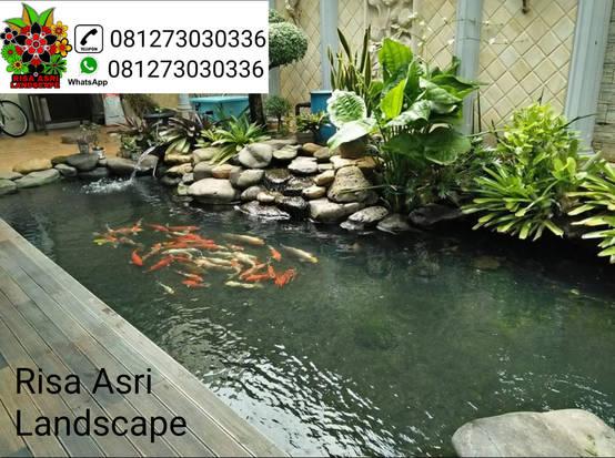 jasa pembuatan kolam hias di surabaya