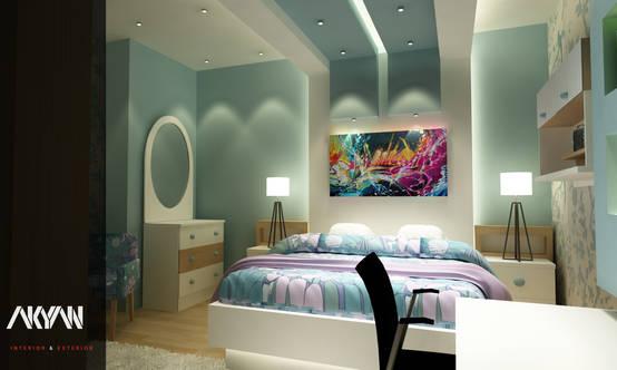 غرفتان شبابيتان بأفكار مبتكرة ولمسات معاصرة من أكيان