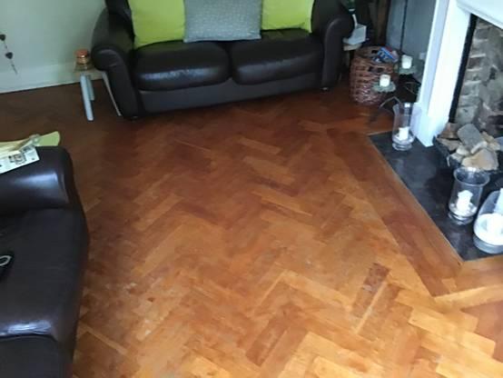 Parquet Flooring – Before
