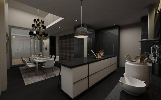 Antalya'dan 450 m² modern bir villa tasarımı