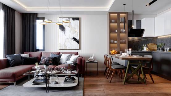 Modern, şehirli ve stil sahibi bir daire | homify | homify