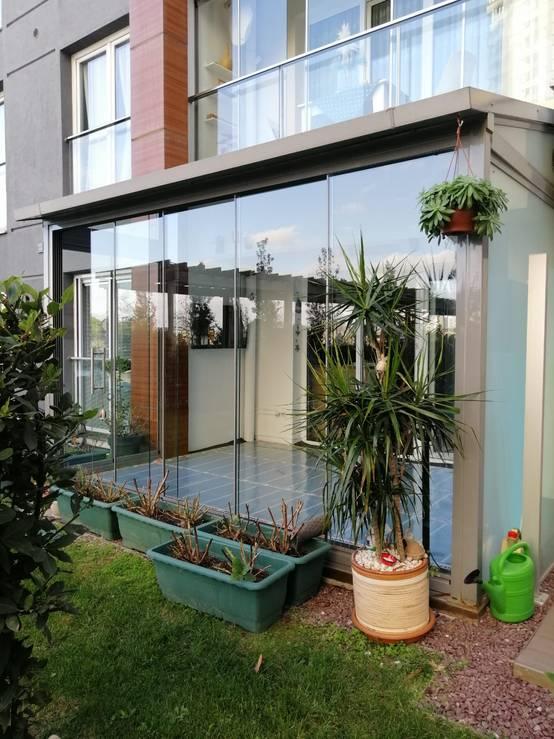 İstanbul'da bir firmadan kapalı balkonlar için yerden ısıtma sistemleri