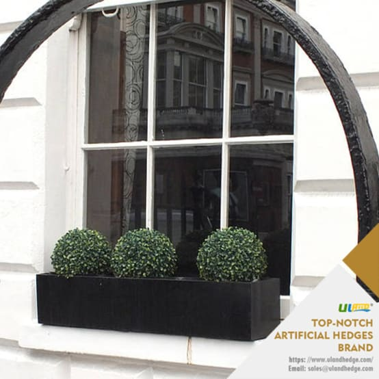 Uland Artificial Boxwood Topiary