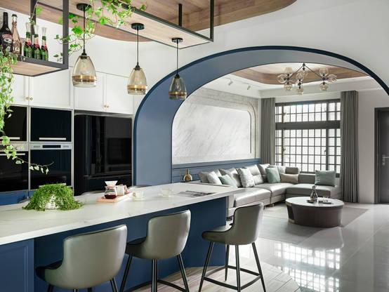 以晴天的溫柔打造家園:南投的優雅獨棟現代家屋