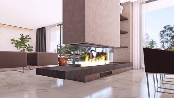 Etkileyici iç tasarımıyla yüksek yaşam kalitesi sunan bir villa