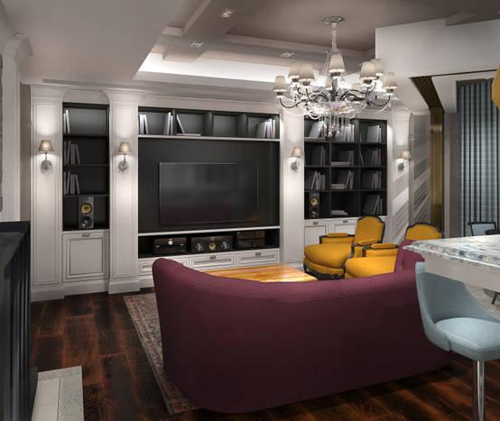Потрясающий дизайн интерьера квартиры в Москве | homify