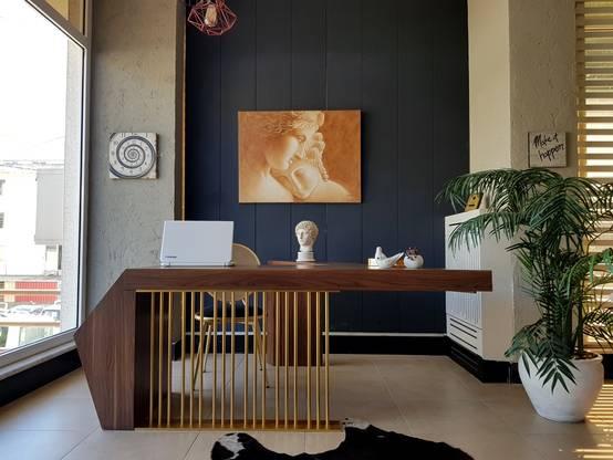 Özel tasarım mobilyalarla özgün bir ofis dekorasyonu | homify | homify