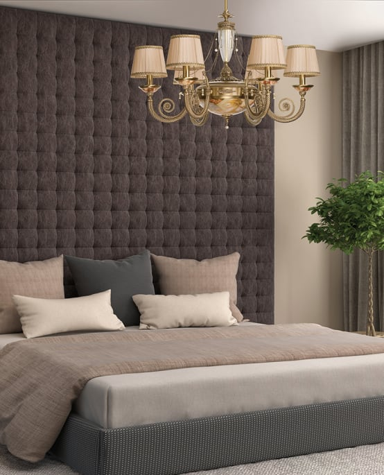 New bedroom lighting ideas by Luxury Chandelier | homify
