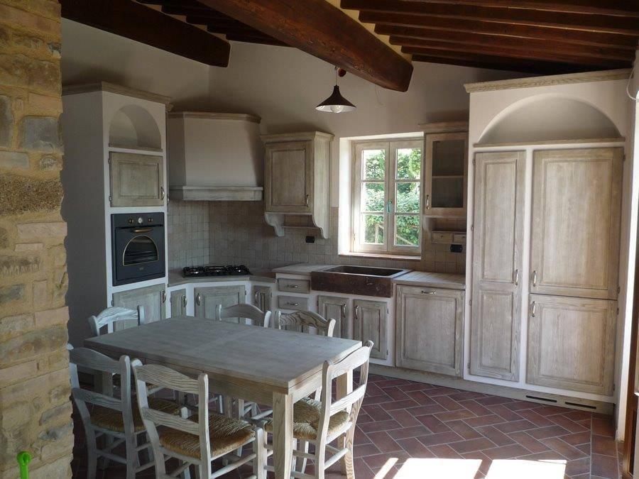 Cucine in muratura 10 idee che vi faranno innamorare - Cucina scacco semeraro ...