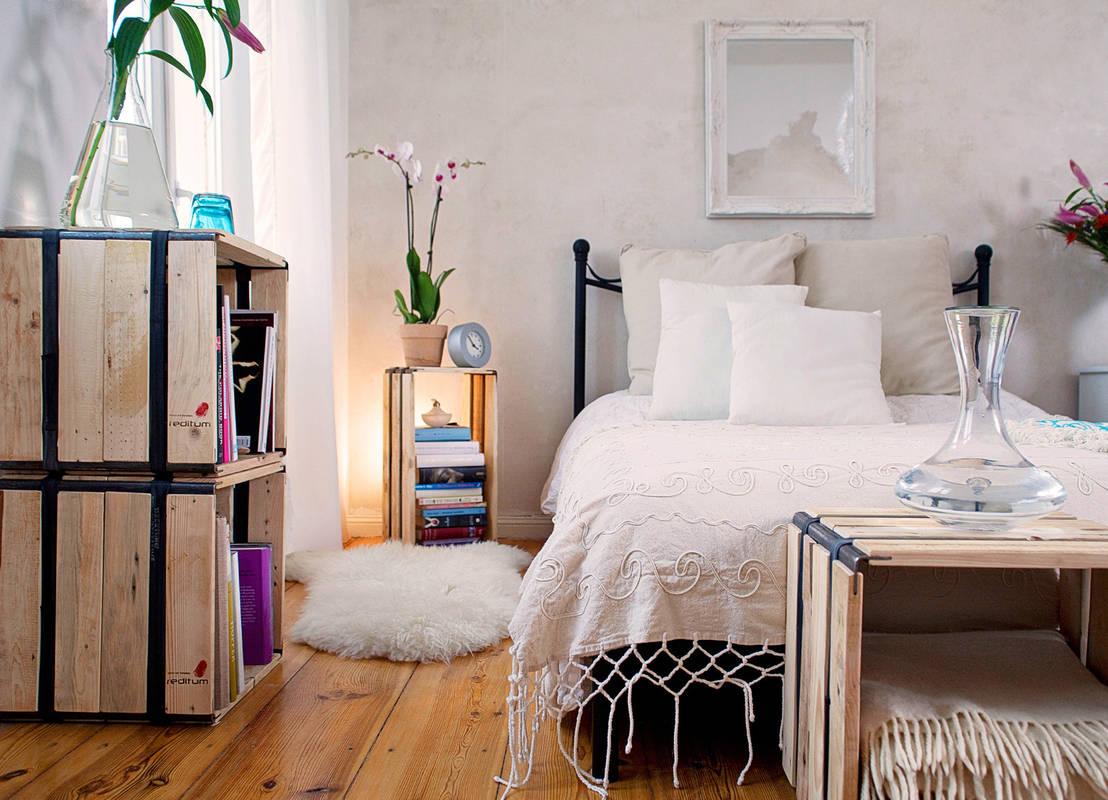 7 idee per trasformare i pallet di legno in mobili per la casa