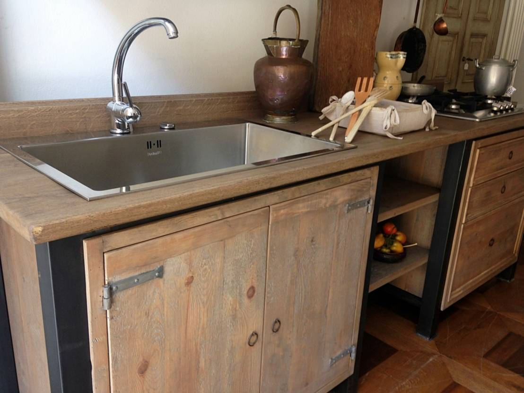 Il mobile lavello per la cucina come scegliere quello giusto - Lavandini da cucina in ceramica ...