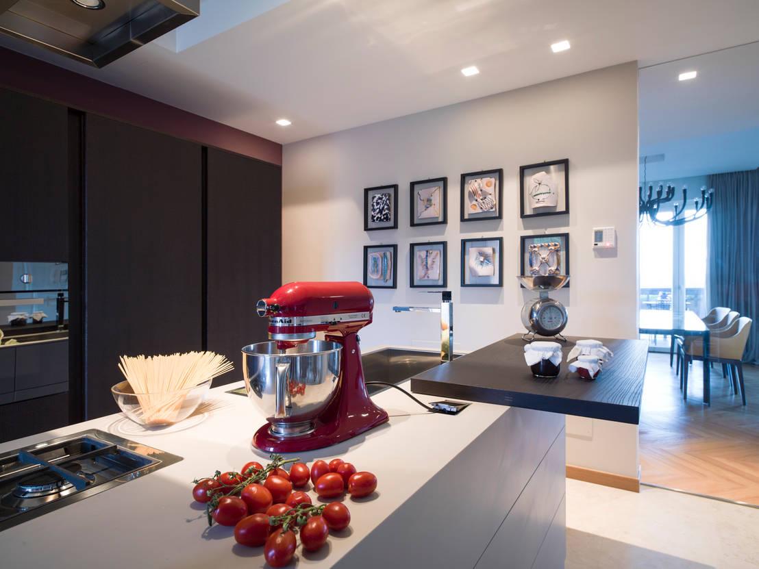 Come dividere in modo semplice il soggiorno dalla cucina - Divisione cucina soggiorno ...