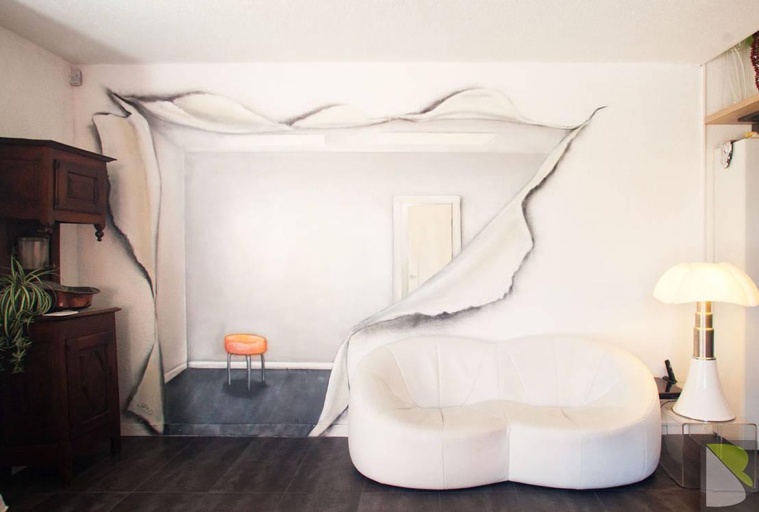 tipps f r bunte w nde. Black Bedroom Furniture Sets. Home Design Ideas