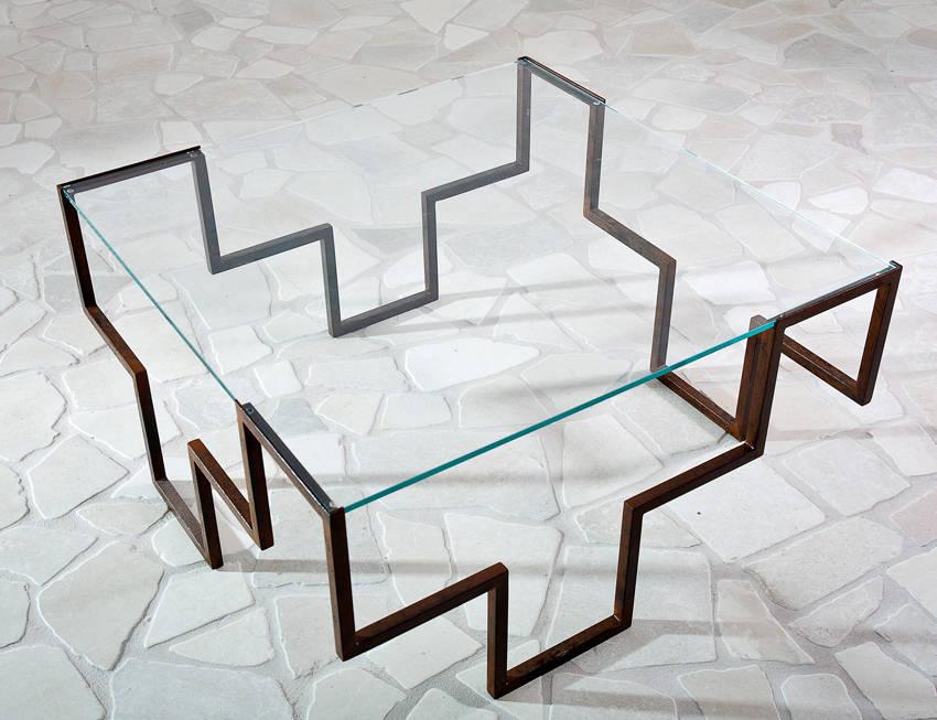 tavoli in ferro battuto idee originali : Iron age: la nuova era dei tavoli in ferro battuto