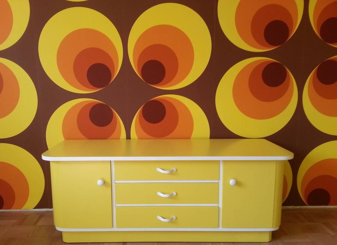 Top 10 de mooiste vintage meubels - Behang van de jaren ...