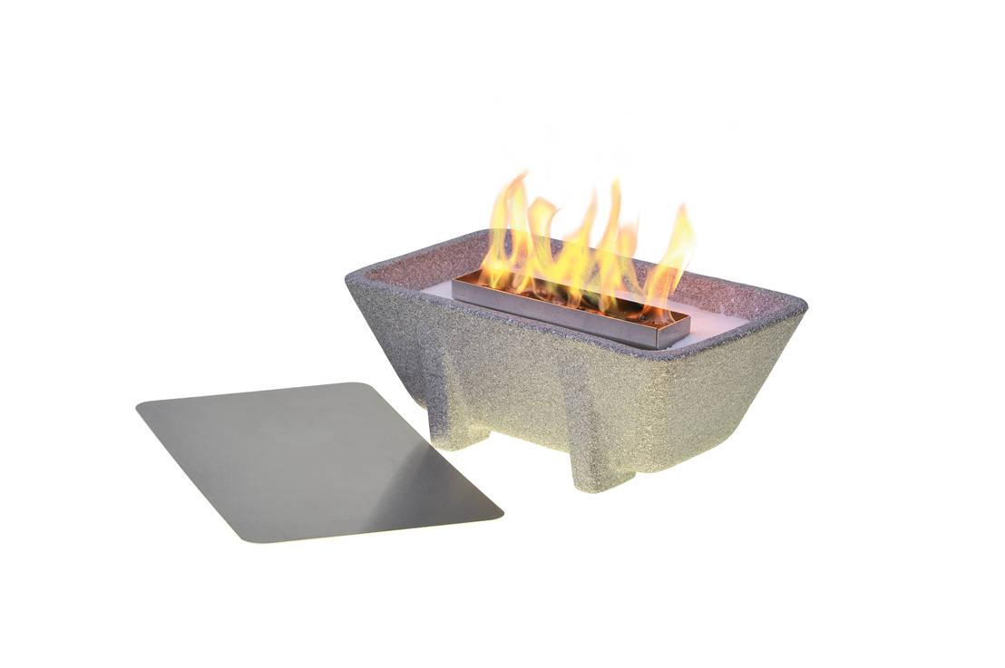 schmelzfeuer outdoor xl granicium von denk keramische. Black Bedroom Furniture Sets. Home Design Ideas