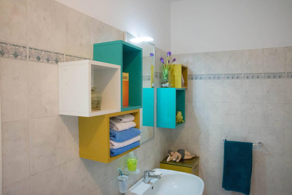 Rangement salle de bain for Tour de rangement salle de bain