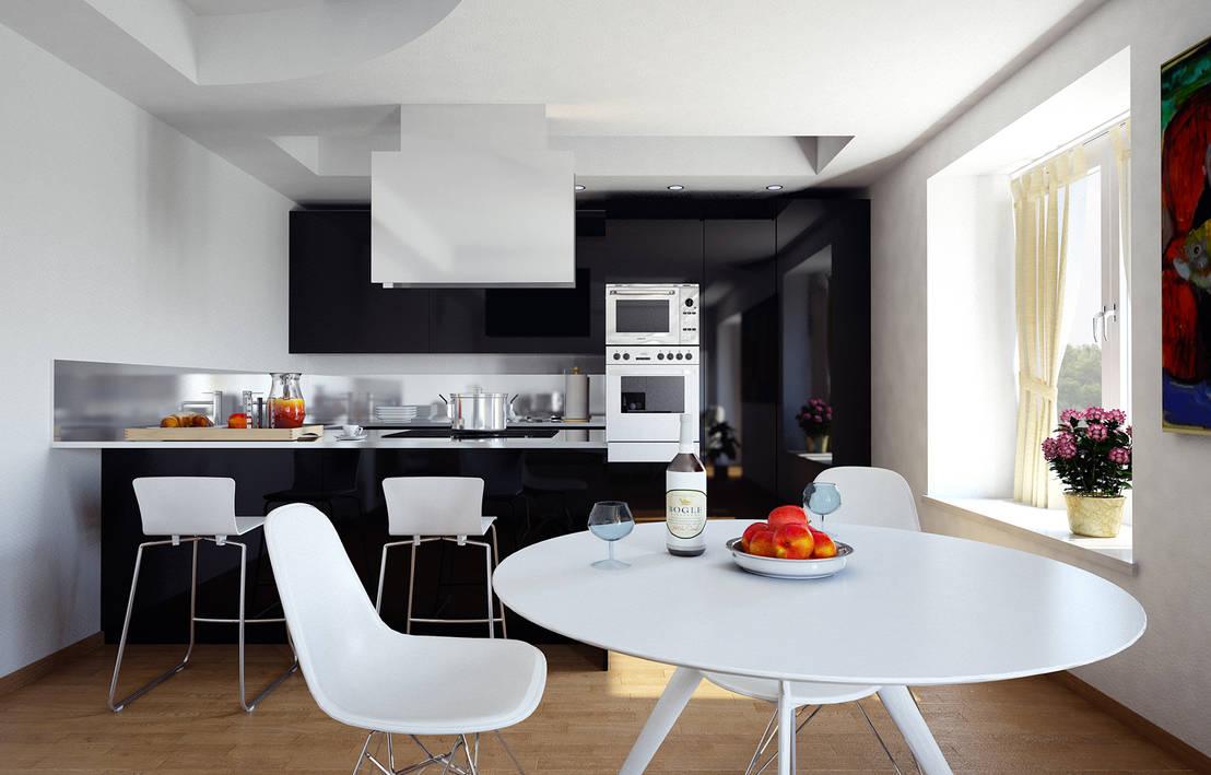 Bianco e nero per la casa for Grandi progetti per la casa