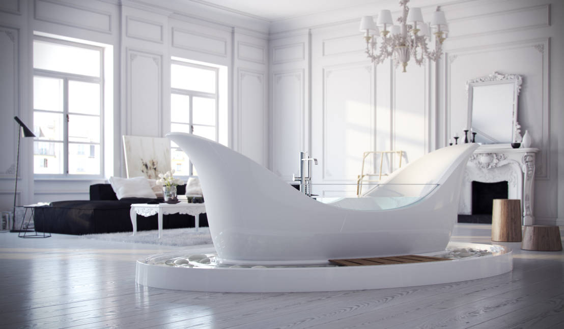 Vasche da bagno arrivederci ceramica - Vasche da bagno particolari ...