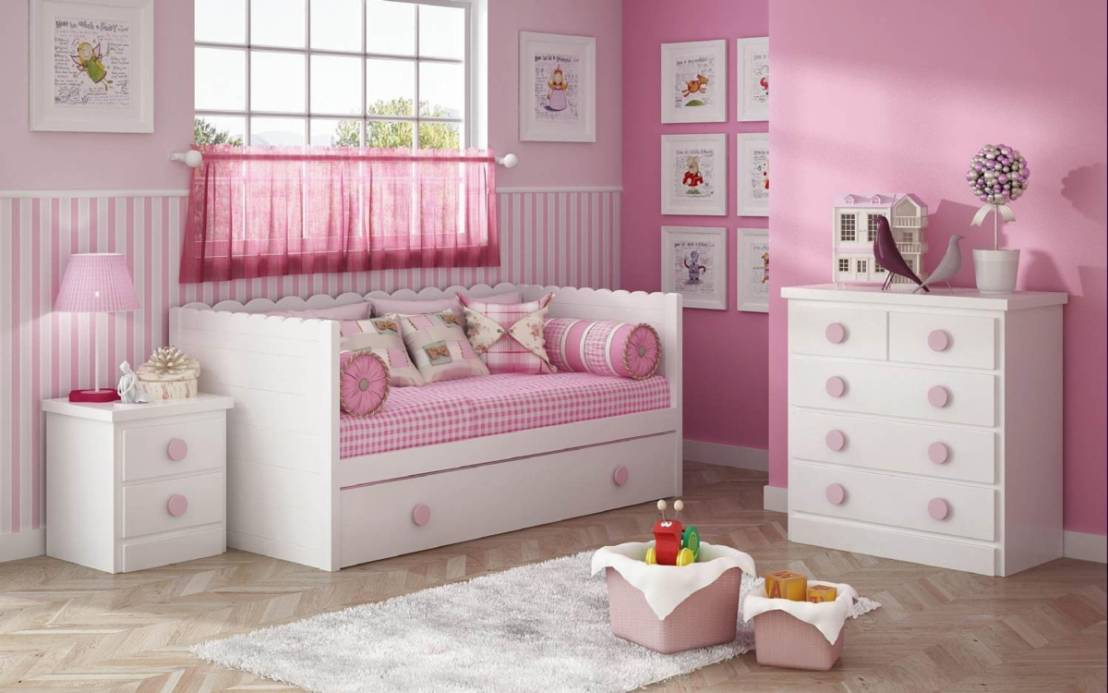 Cama nido para dormitorios infantiles de muebles noel - Muebles dormitorios infantiles ...