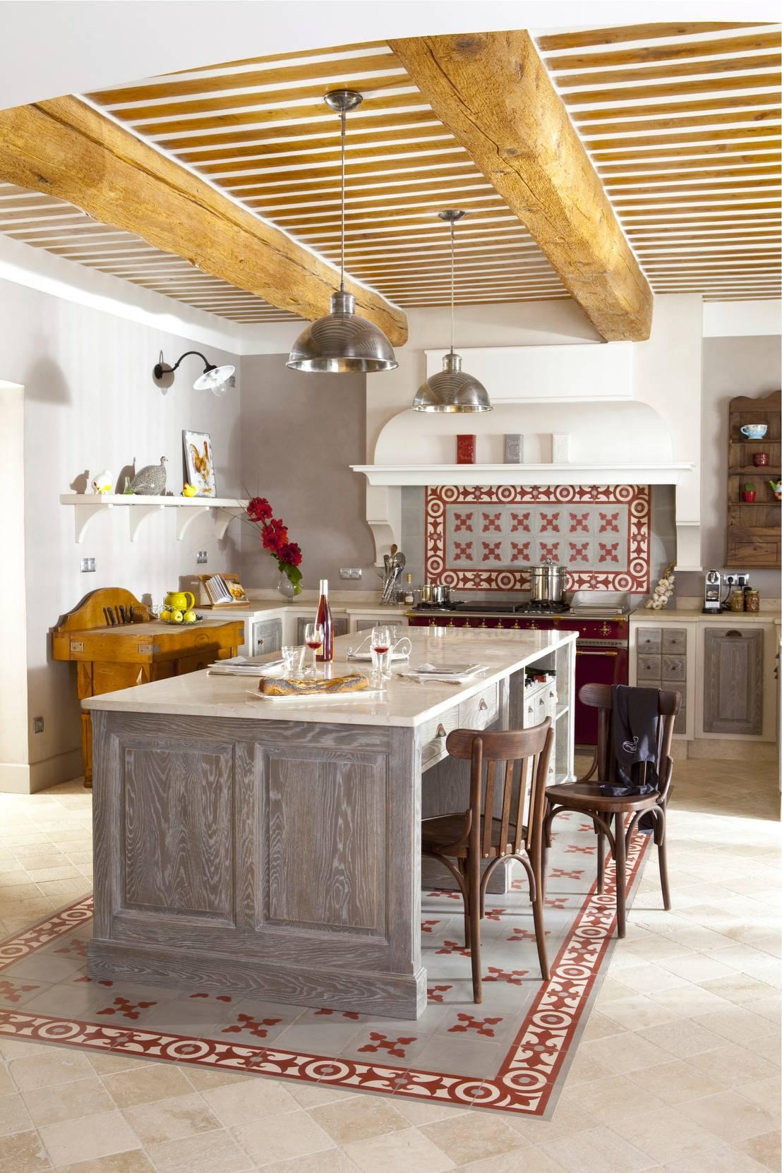 10 cocinas r sticas con mucho encanto