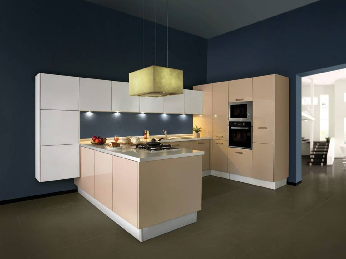 8 exquisite l shaped modular kitchen designs for L shaped modular kitchen designs photos