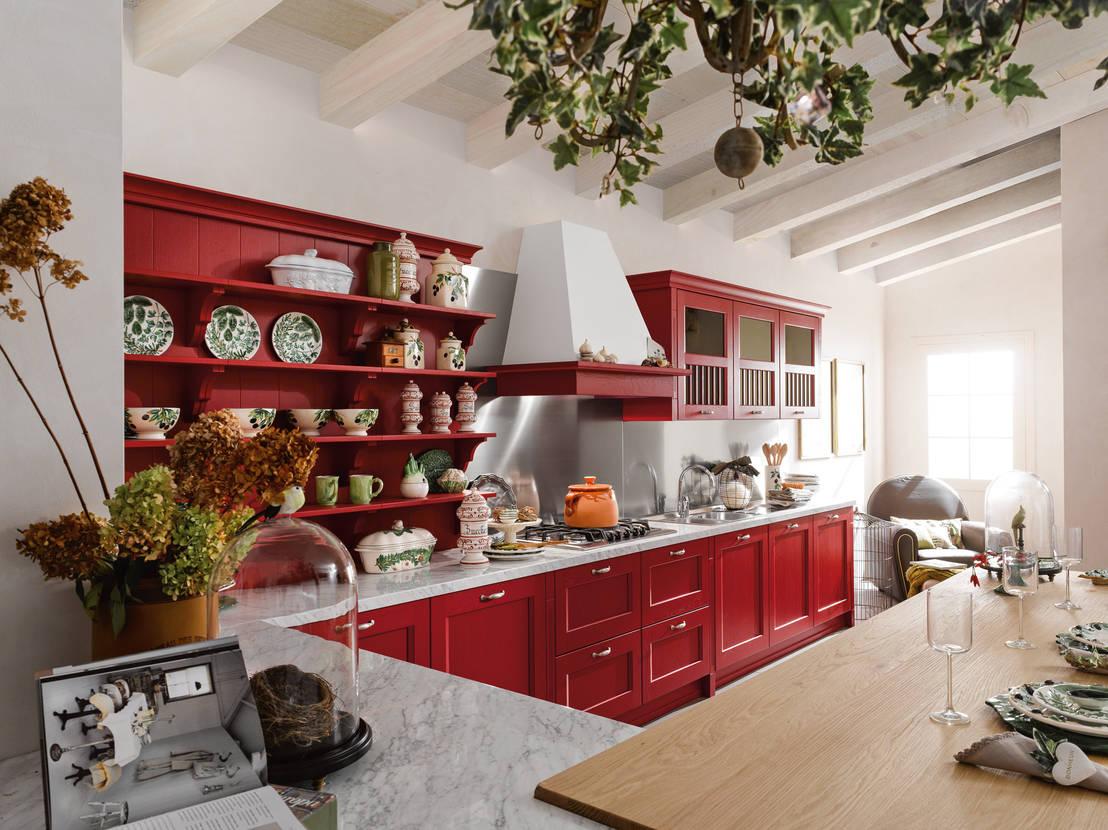 Come scegliere la dispensa della cucina perfetta - Cucina con dispensa ...