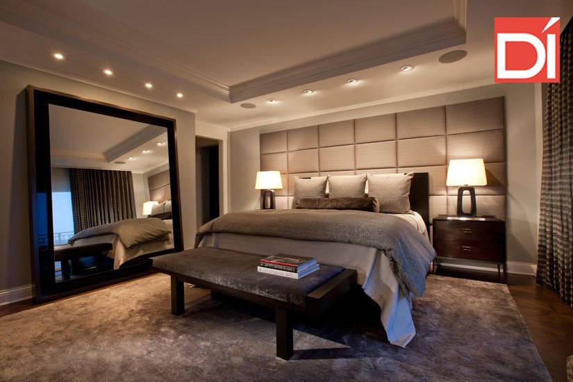 Rec maras 6 dise os de camas matrimoniales for Recamaras contemporaneas modernas