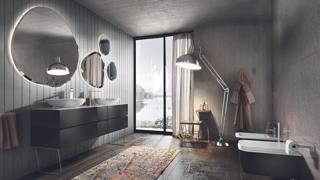 spiegel f rs badezimmer. Black Bedroom Furniture Sets. Home Design Ideas