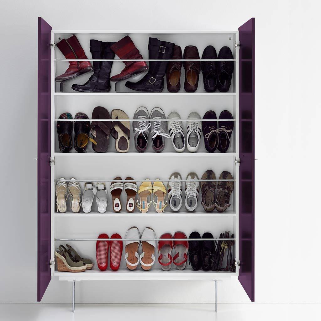 15 originelle ideen f r einen schuhschrank. Black Bedroom Furniture Sets. Home Design Ideas
