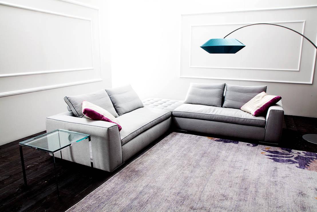 Divani ad angolo e divani letto una soluzione sempre giusta per il soggiorno - Divano a bocca ...