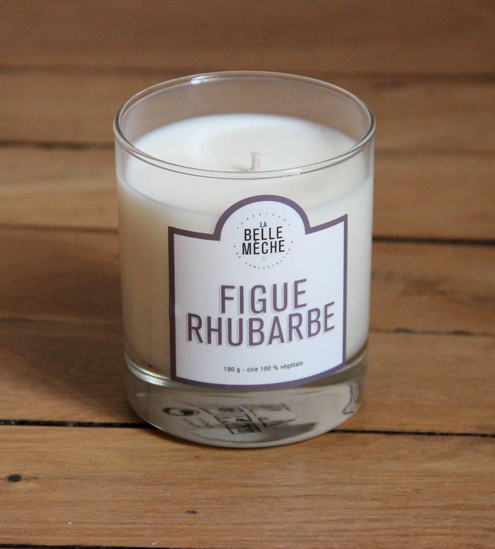 la belle m che bougie parfum e figue rhubarbe homify. Black Bedroom Furniture Sets. Home Design Ideas
