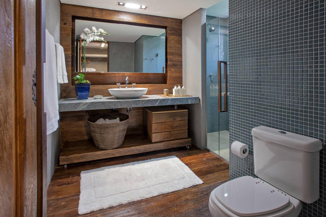 Salle de bain bois: 14 idées fabuleuses!!!