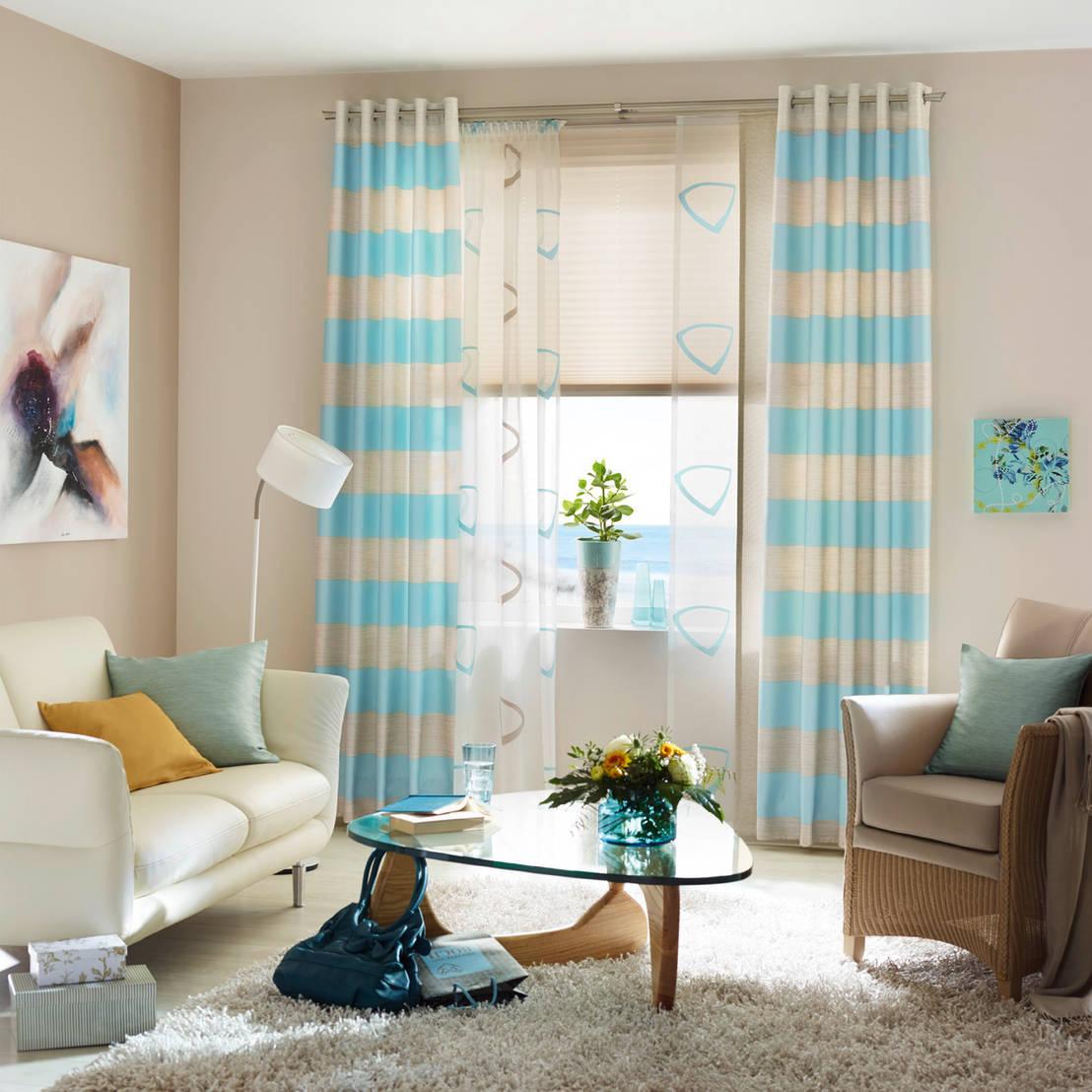 Salones peque os 5 trucos de decoraci n for Cortinas para salones pequenos