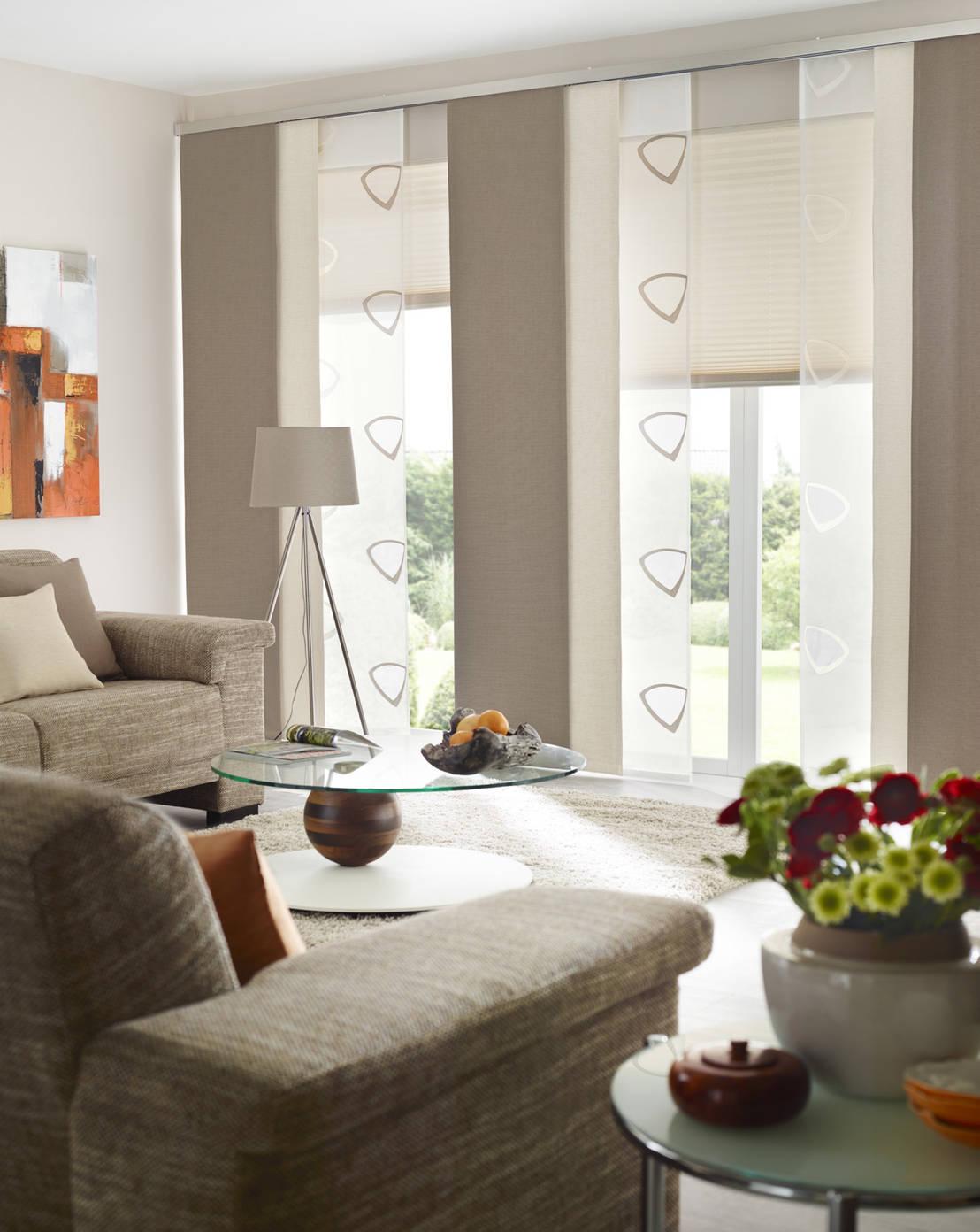 gardinen sonnenschutz plissee livingreet von unland international gmbh homify. Black Bedroom Furniture Sets. Home Design Ideas