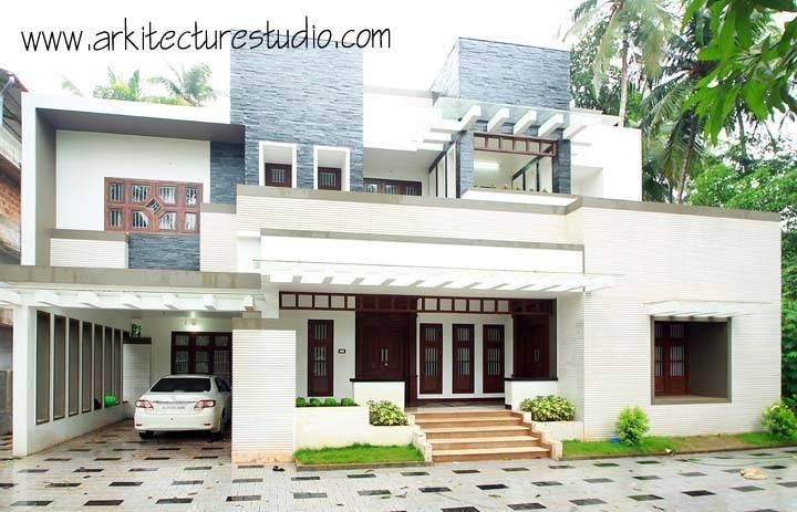 An Elegant But Simple Home In Calicut Kerala