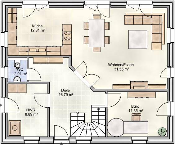 10 intelligente hausgrundrisse die dich inspirieren for Wohnzimmer 4 x 10