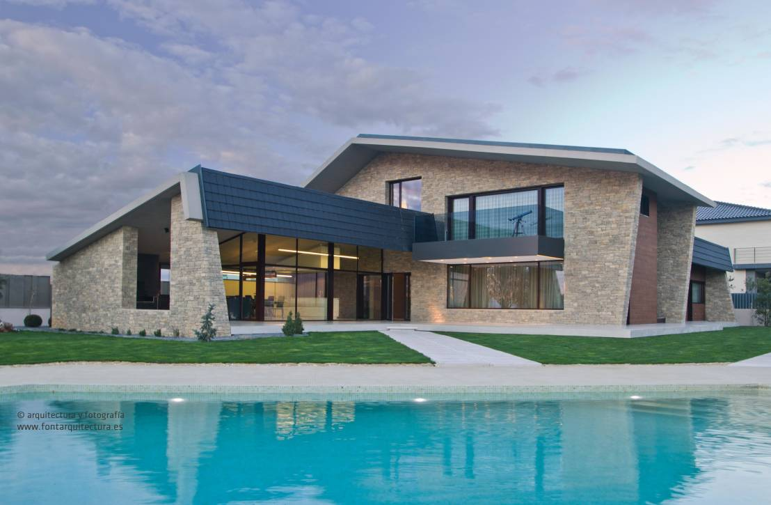 Fabulosa casa r stico moderna en castell n - Arquitectura rustica moderna ...