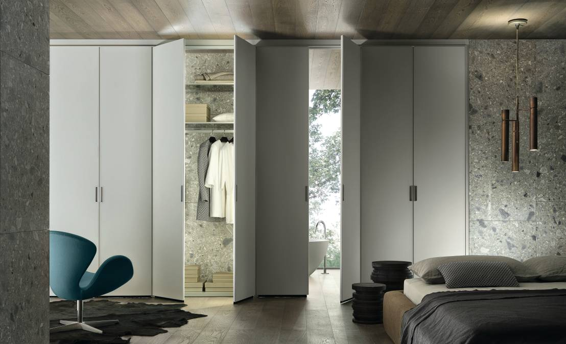 Armadi a muro come cabine armadio soluzioni di tendenza - Soluzioni per cabine armadio ...